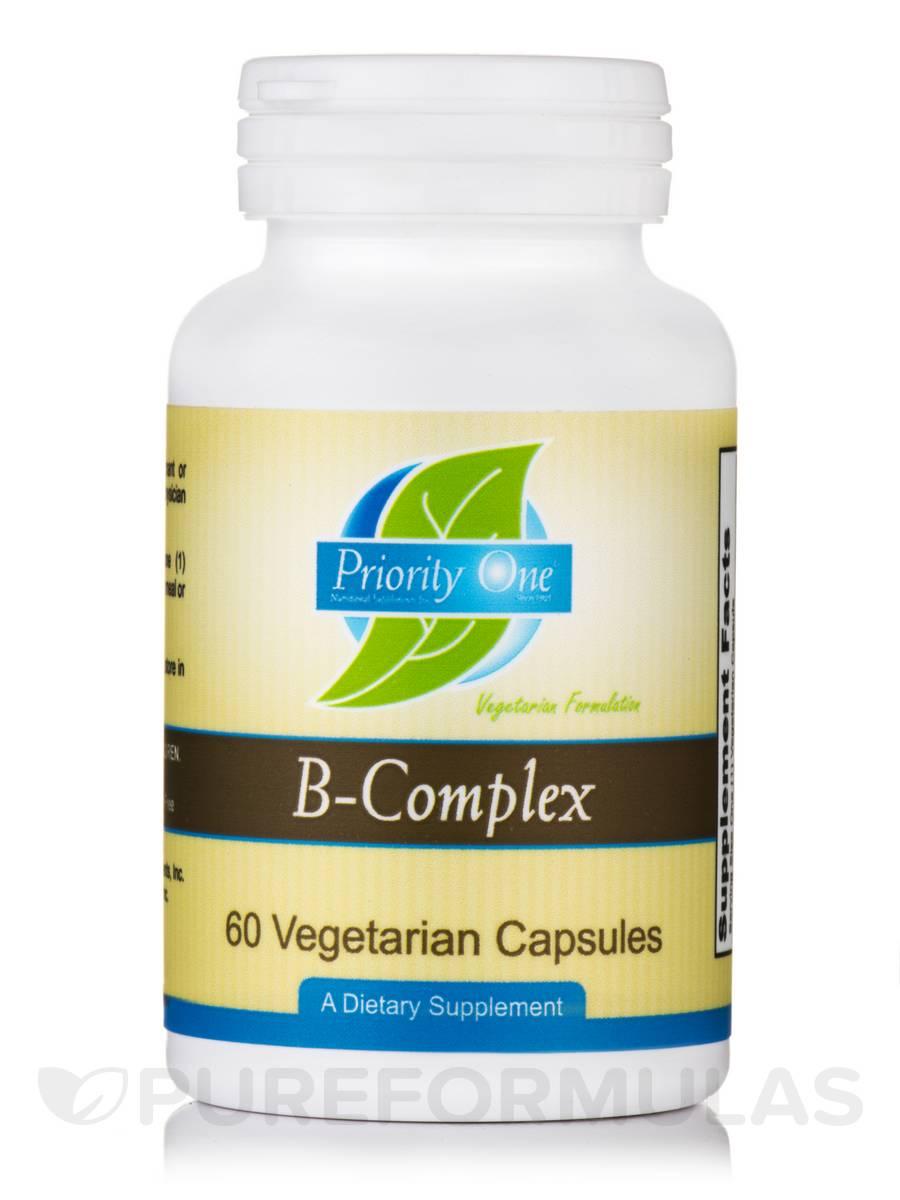 B-Complex - 60 Vegetarian Capsules