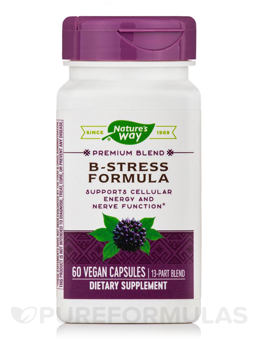 B-Stress Formula - 60 Vegan Capsules