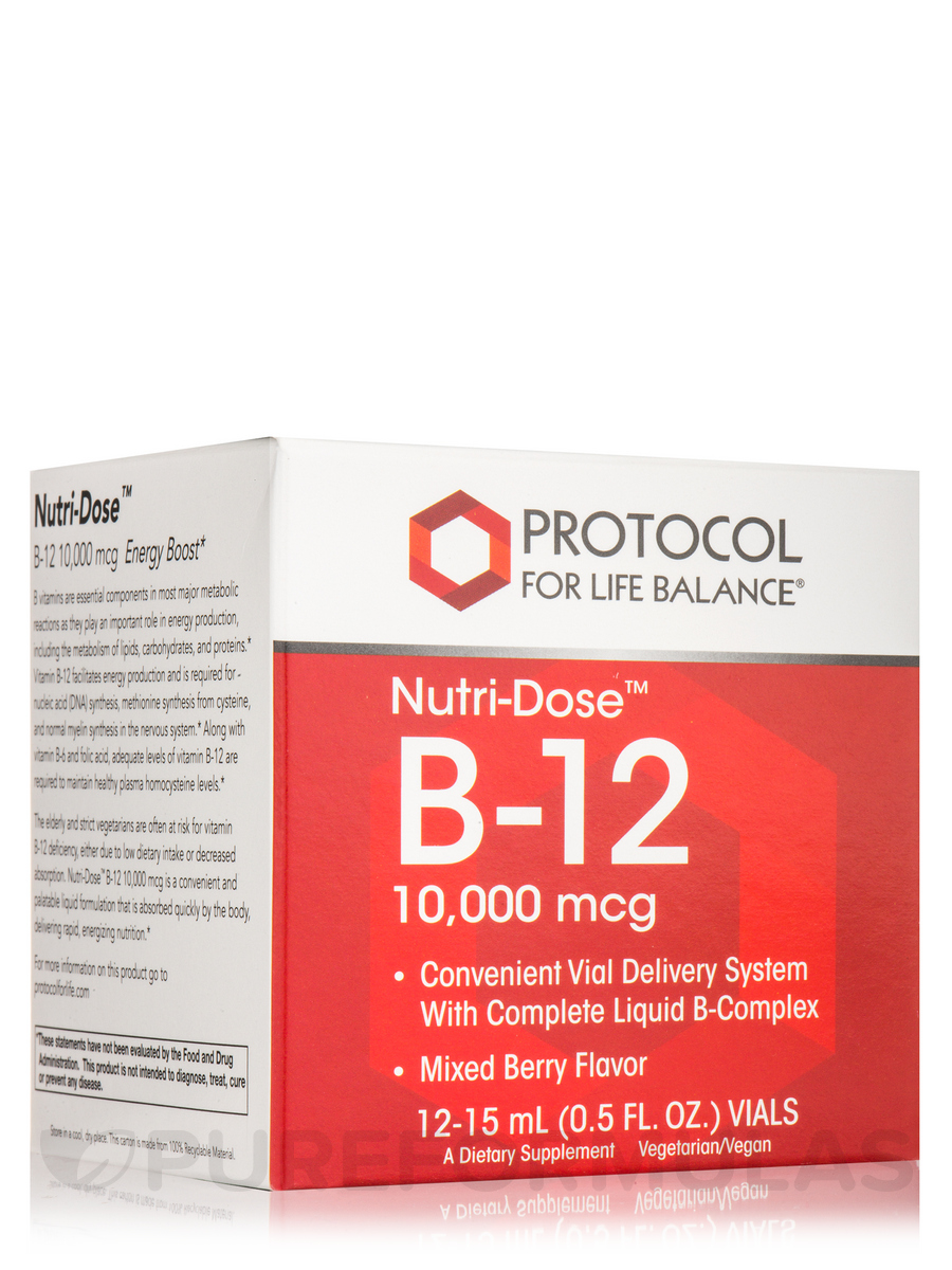 Nutri-Dose B-12 10000 mcg - 12:15 ml
