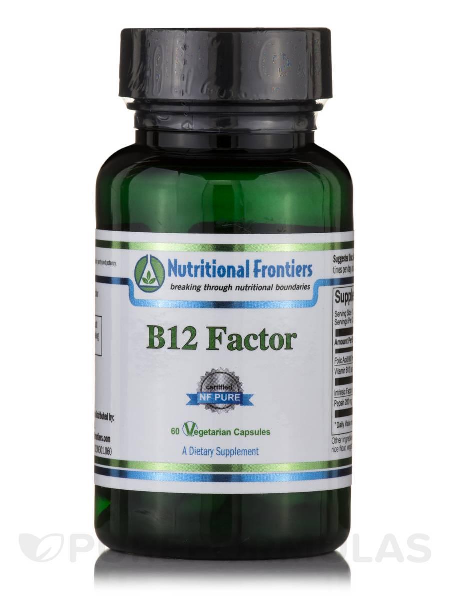 B12 Factor - 60 Vegetarian Capsules