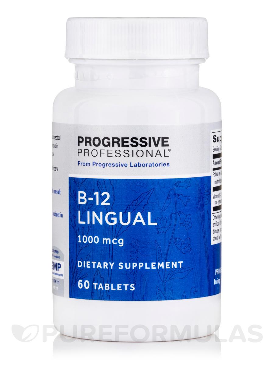 B-12 1000 mcg - 60 Tablets