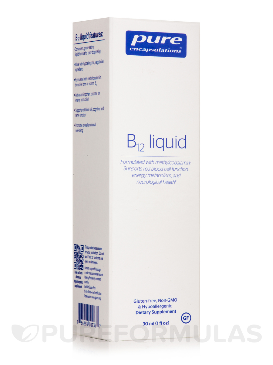 B12 Liquid - 1 fl. oz (30 ml)
