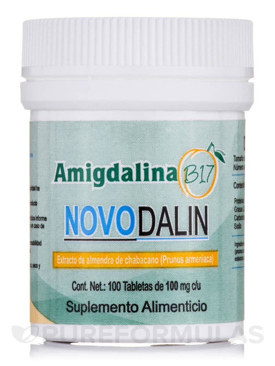 Novodalin B17 (Amigdalina) 100 mg - 100 Tablets