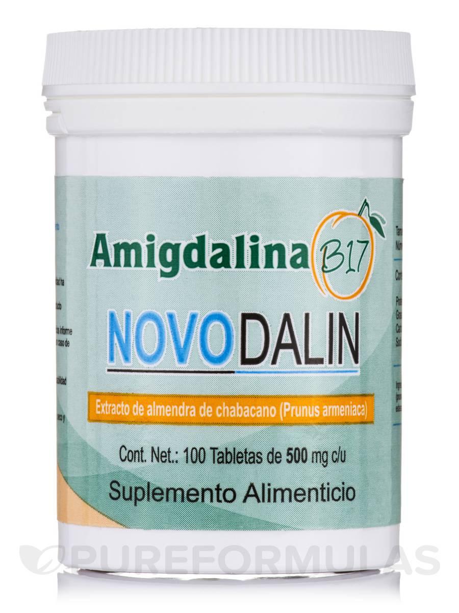 Novodalin B17 (Amigdalina) 500 mg - 100 Tablets