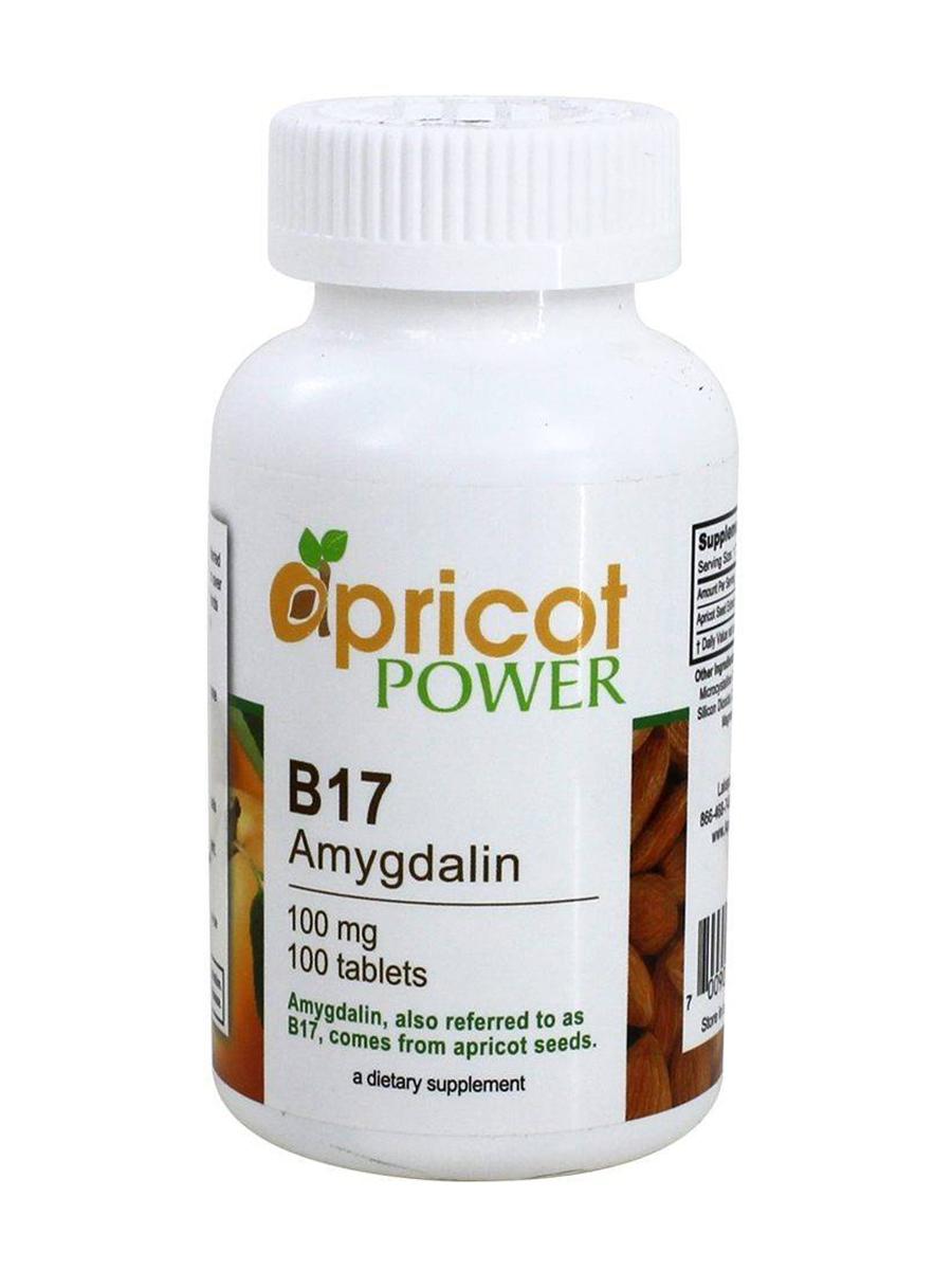 B17 (Amygdalin) 100 mg - 100 Tablets