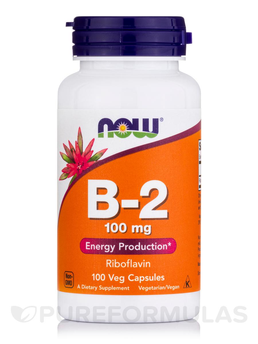 B-2 100 mg - 100 Capsules