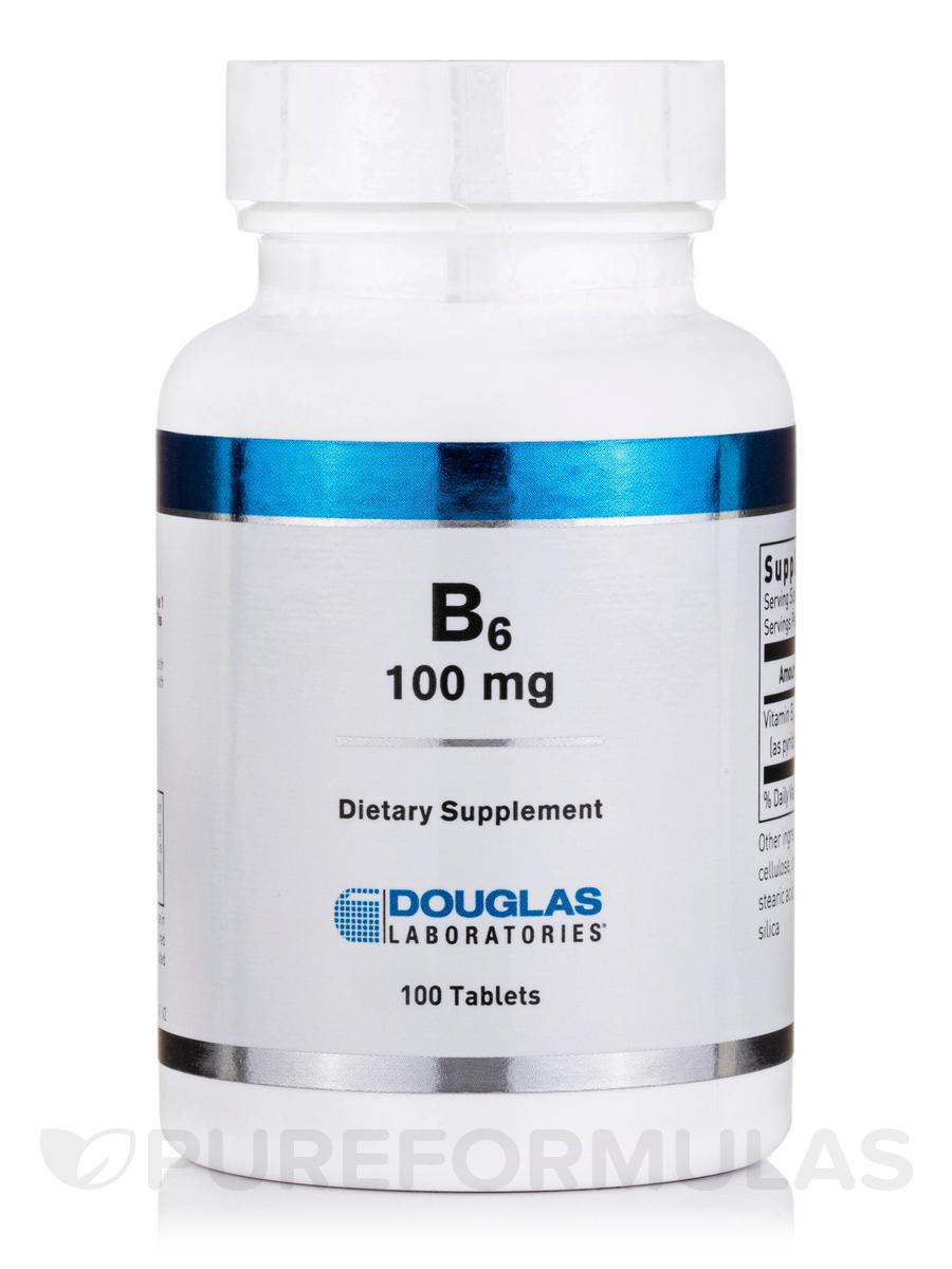 B-6 100 mg - 100 Tablets