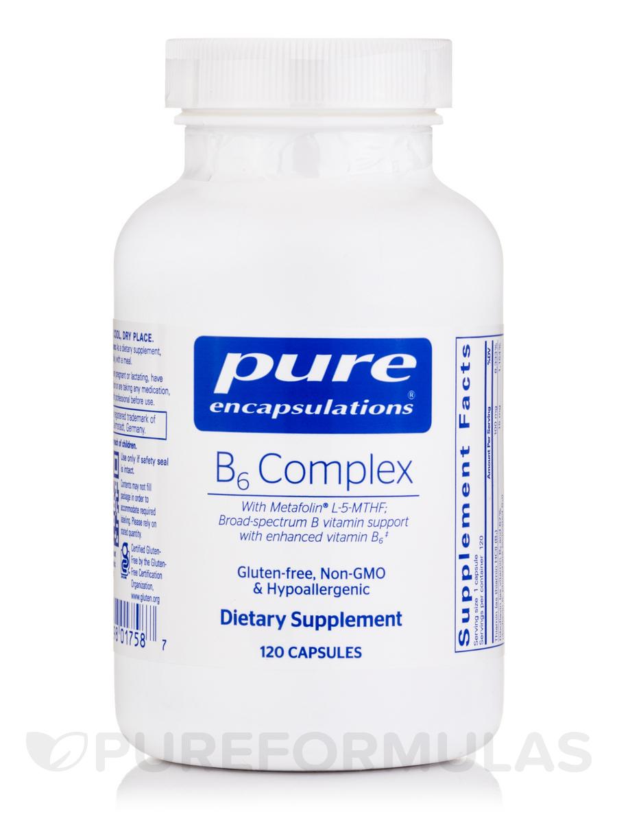 B6 Complex - 120 Capsules