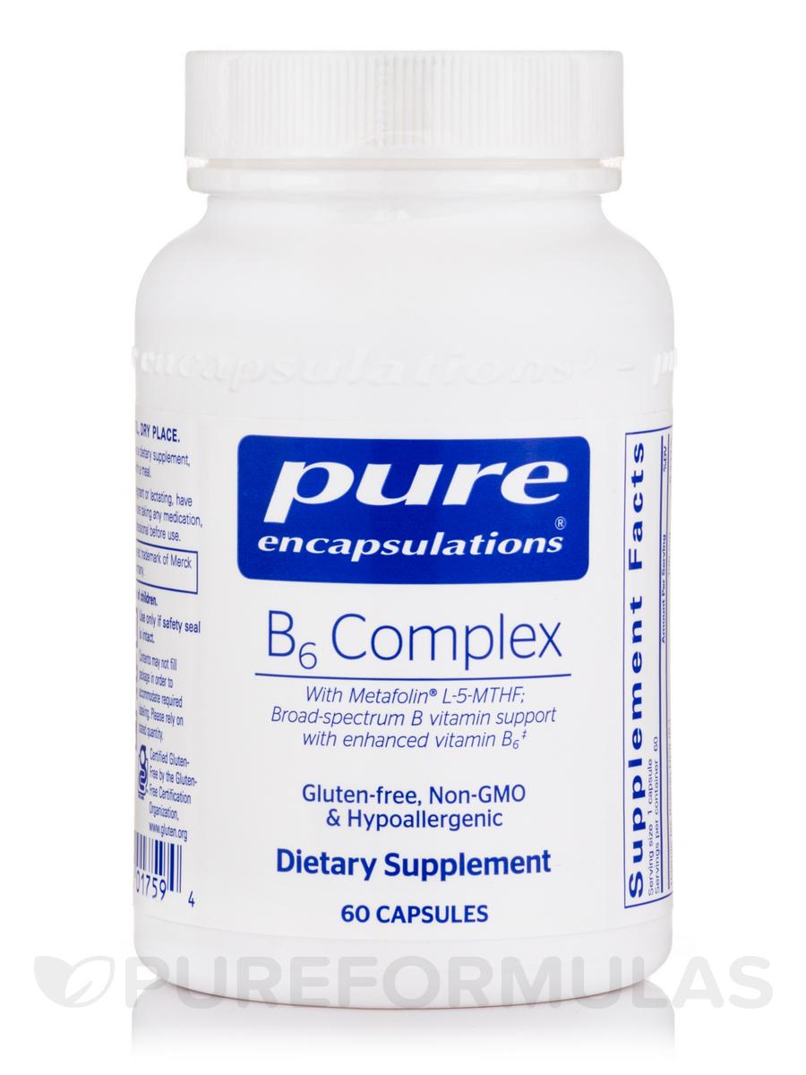B6 Complex - 60 Capsules