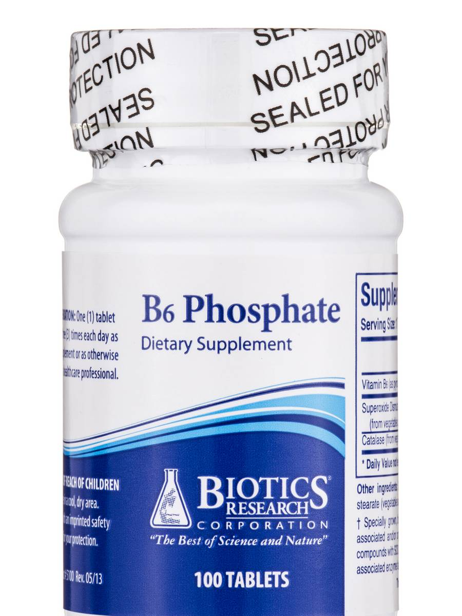 B6 Phosphate - 100 Tablets