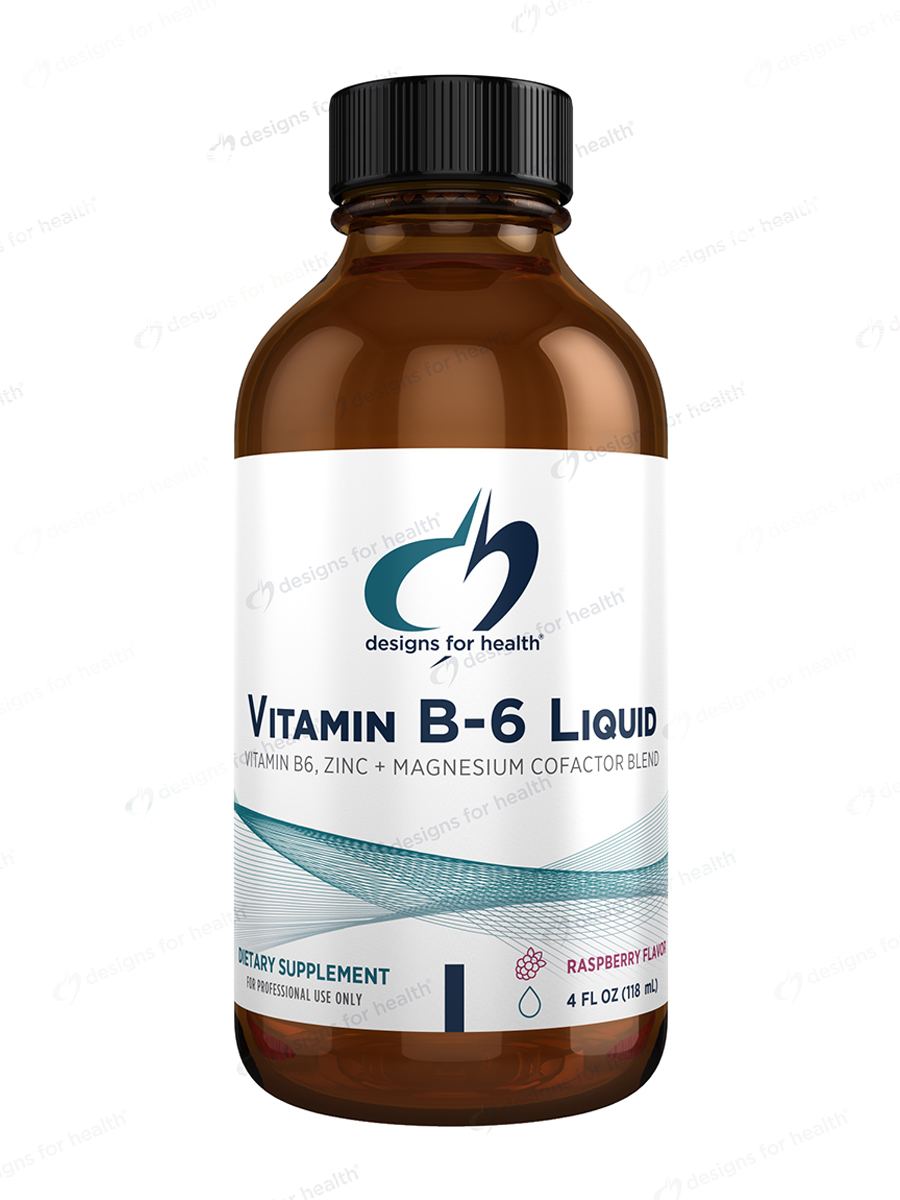 Vitamin B6 Liquid - 4 fl. oz (118 ml)