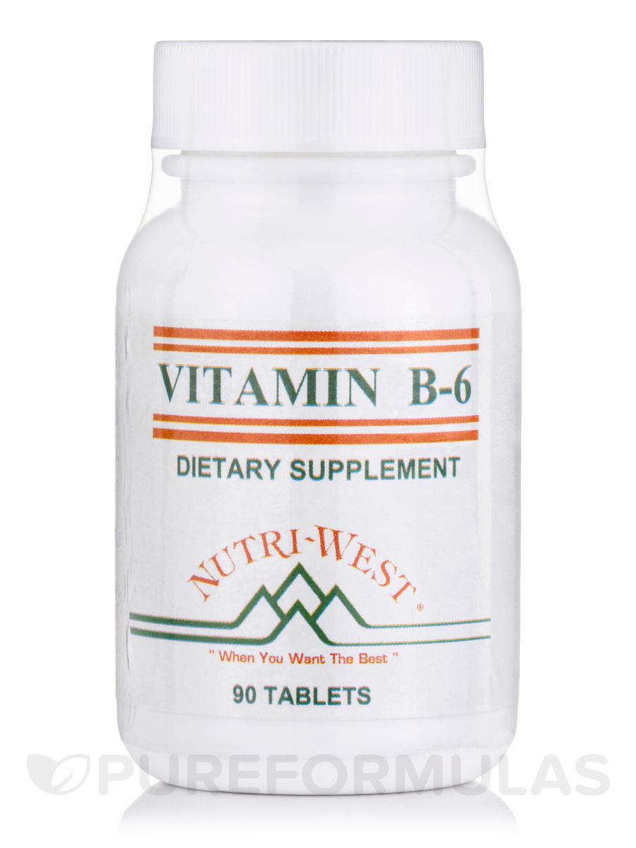 B-6 (Vitamin) - 90 Tablets