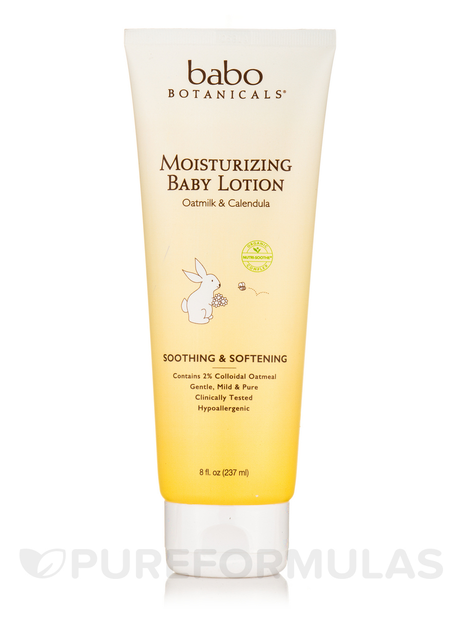 Moisturizing Baby Lotion, Oatmilk & Calendula - 8 fl. oz (237 ml)