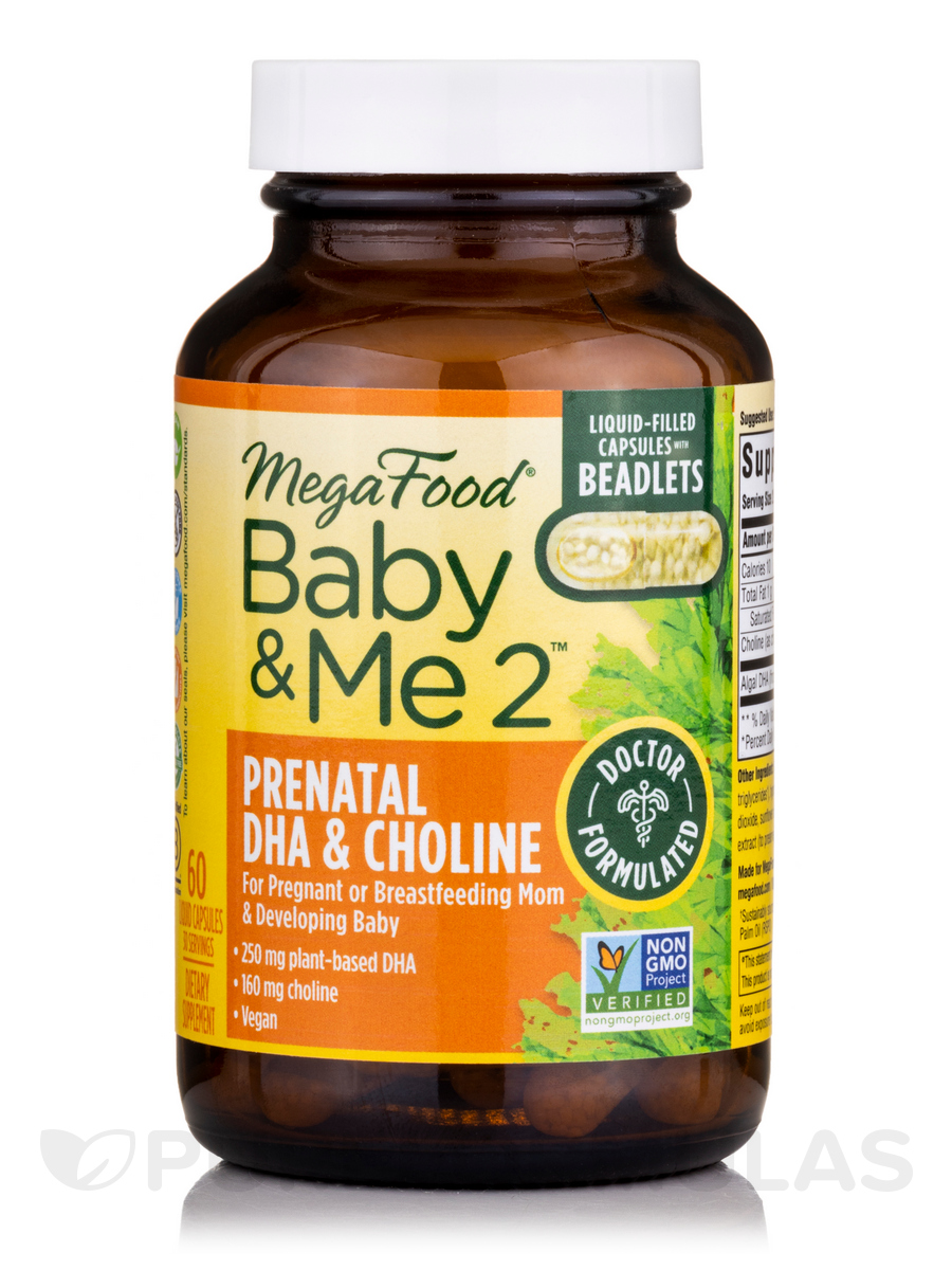 Baby & Me 2™ Prenatal DHA & Choline - 60 Capsules