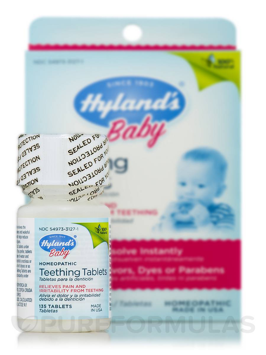Home » Homeopathic Remedies » Baby Teething Tablets - 135 Tablets