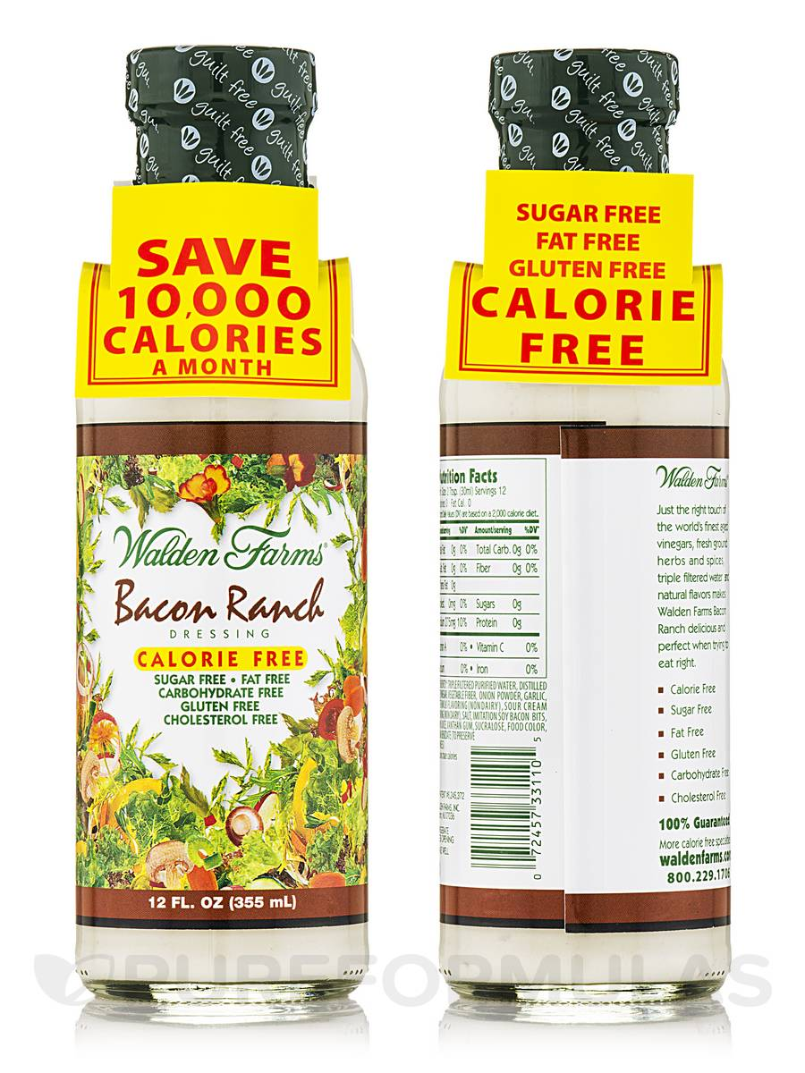 Bacon Ranch Salad Dressing - 12 fl. oz (355 ml)