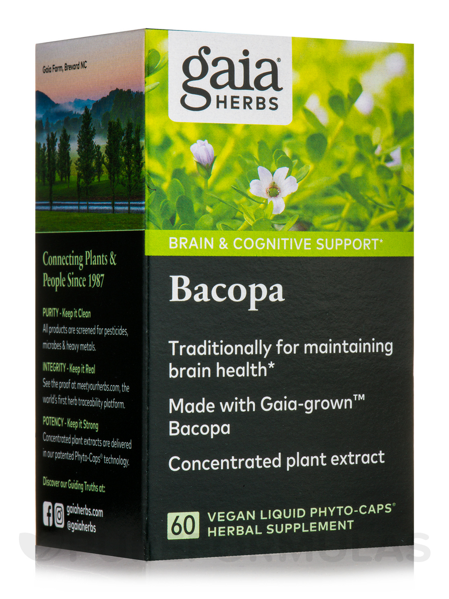 Bacopa - 60 Vegan Liquid Phyto-Caps®