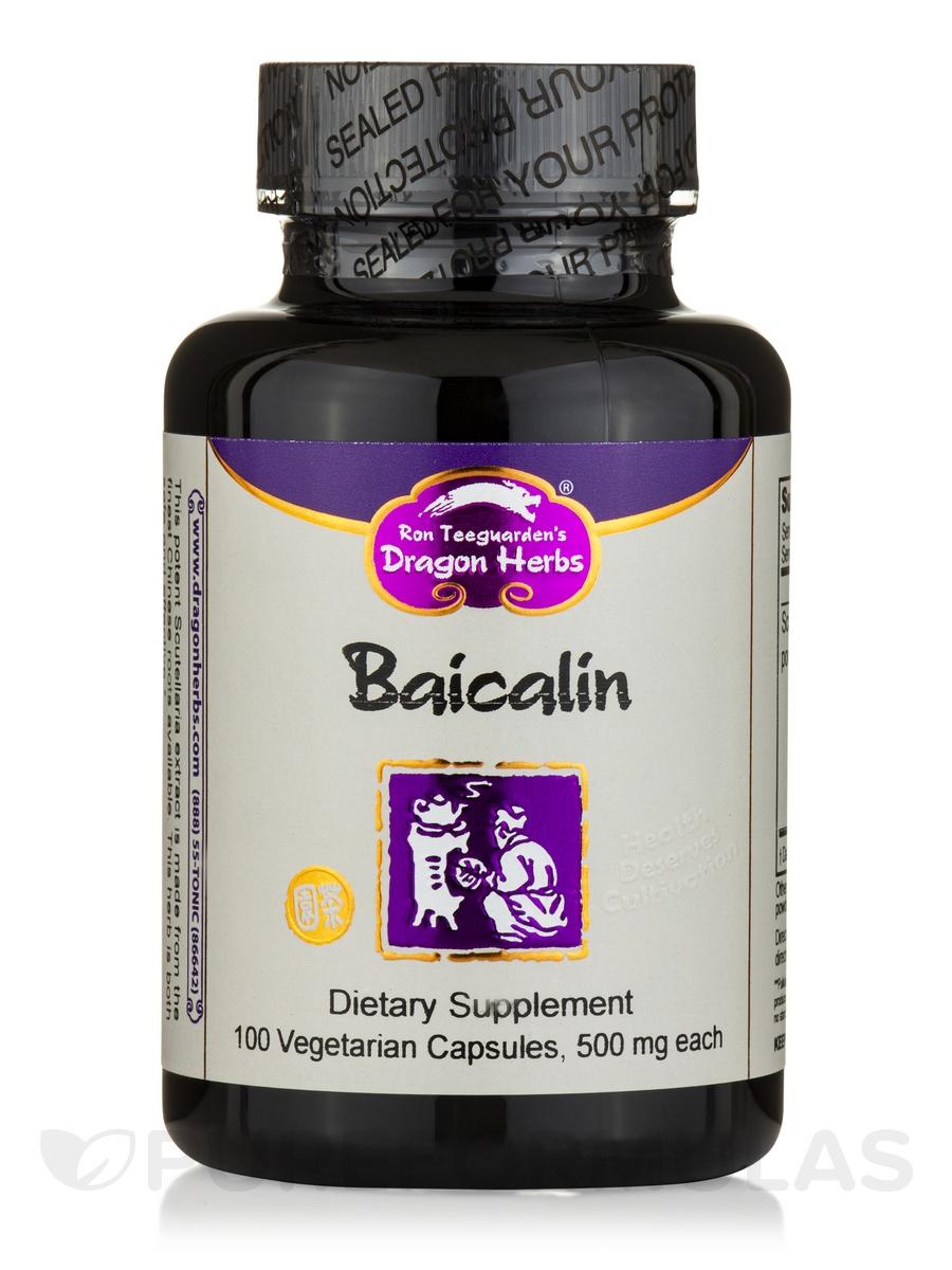 Baicalin - 100 Vegetarian Capsules