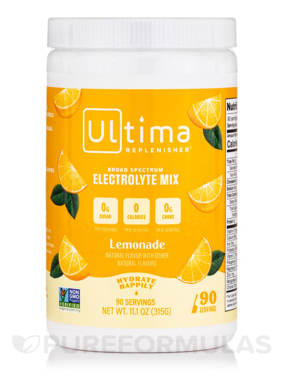 Electrolyte Drink Mix Powder, Lemonade Flavor - 11.1 oz (315 Grams)
