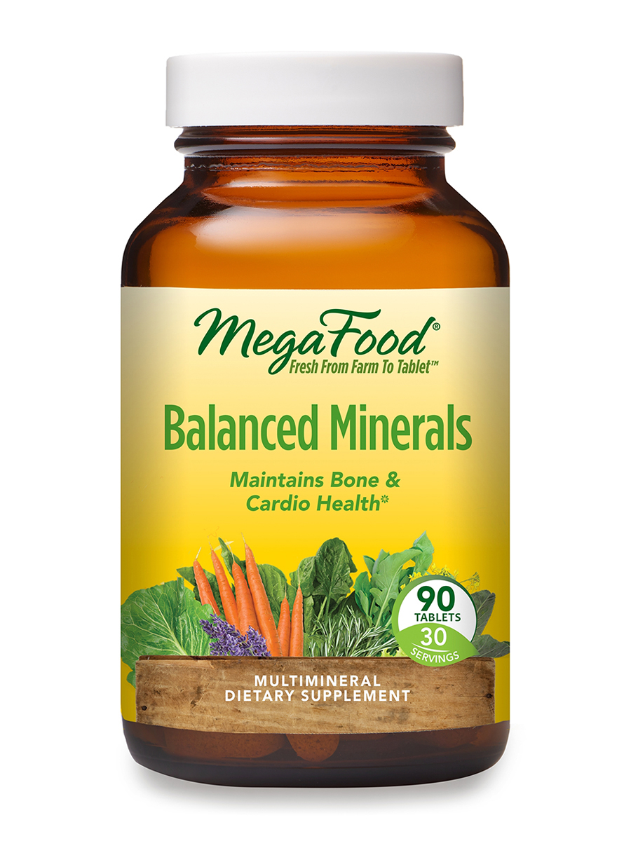Balanced Minerals - 90 Tablets