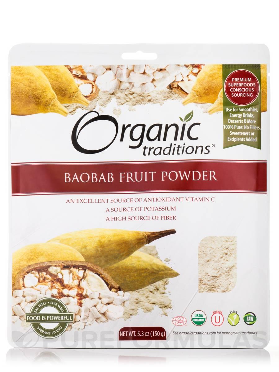 Baobab Fruit Powder - 5.3 oz (150 Grams)