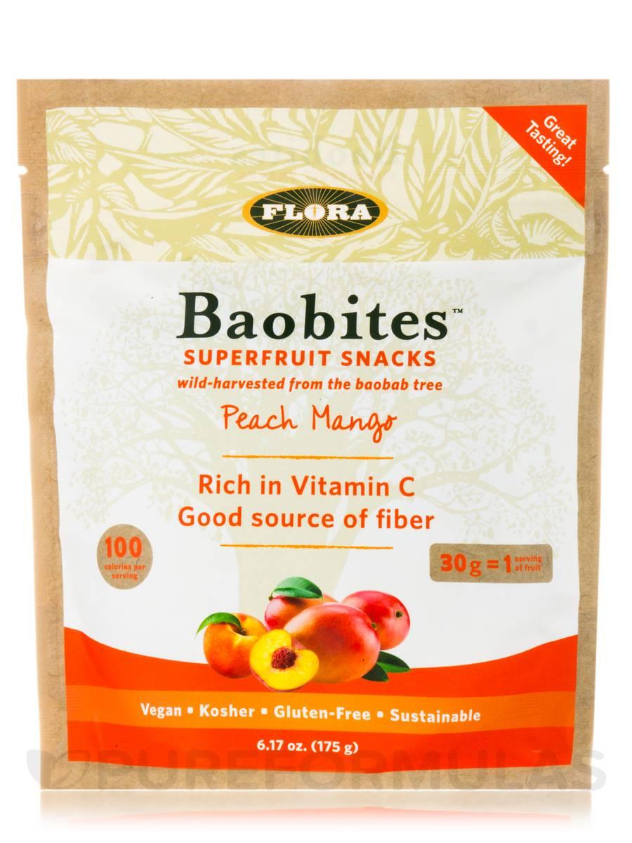 Baobites™ Superfruit Snacks, Peach Mango - 6.17 oz (175 Grams)