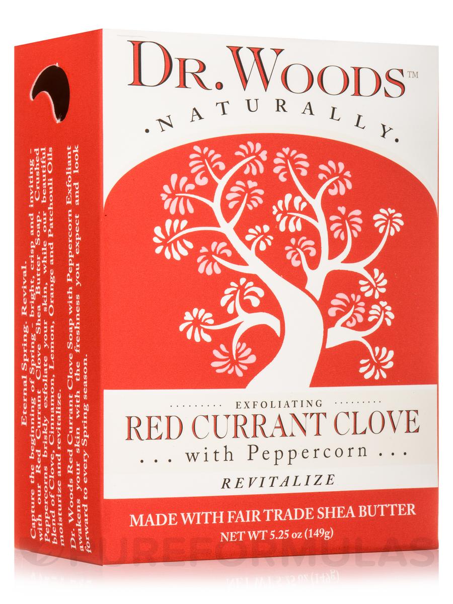 Bar Soap - Exfoliating Red Currant Clove Bar - 5.25 oz (149 Grams)