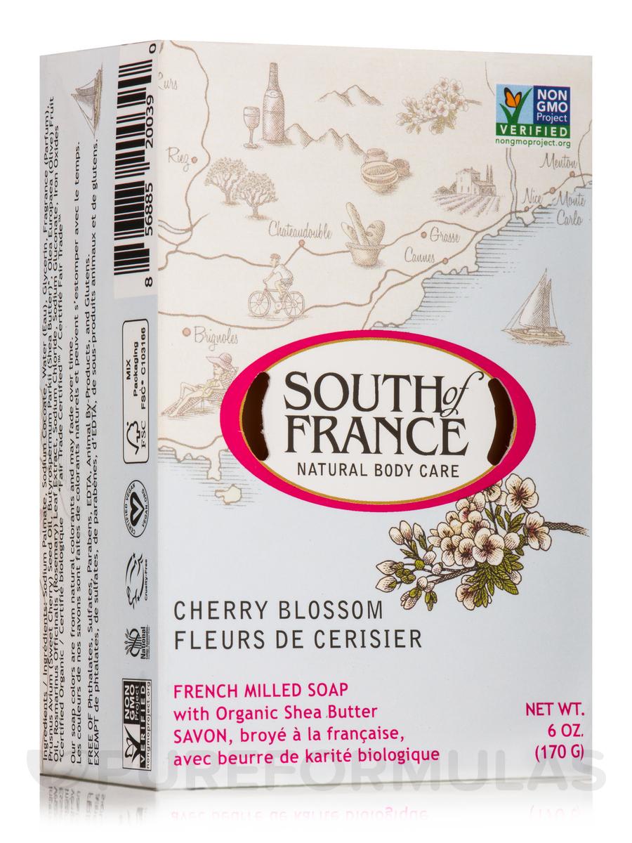 Bar Soap Oval Cherry Blossom - 6 oz (170 Grams)