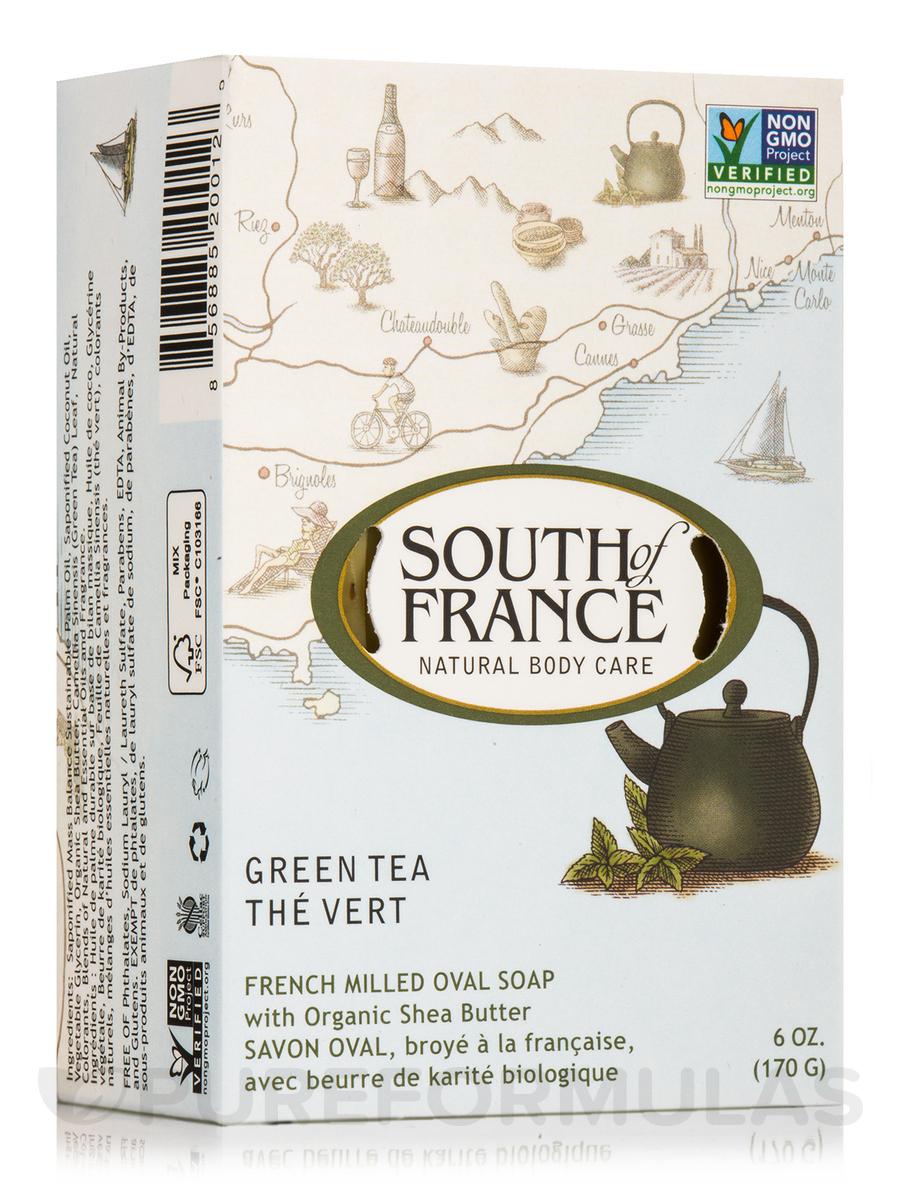 Bar Soap Oval Green Tea - 6 oz (170 Grams)
