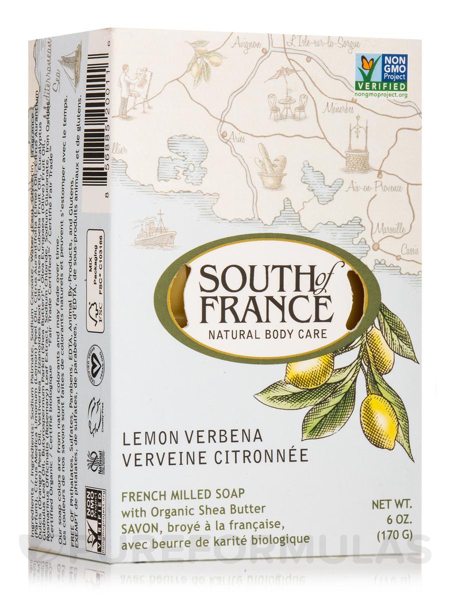 Bar Soap Oval Lemon Verbena - 6 oz (170 Grams)