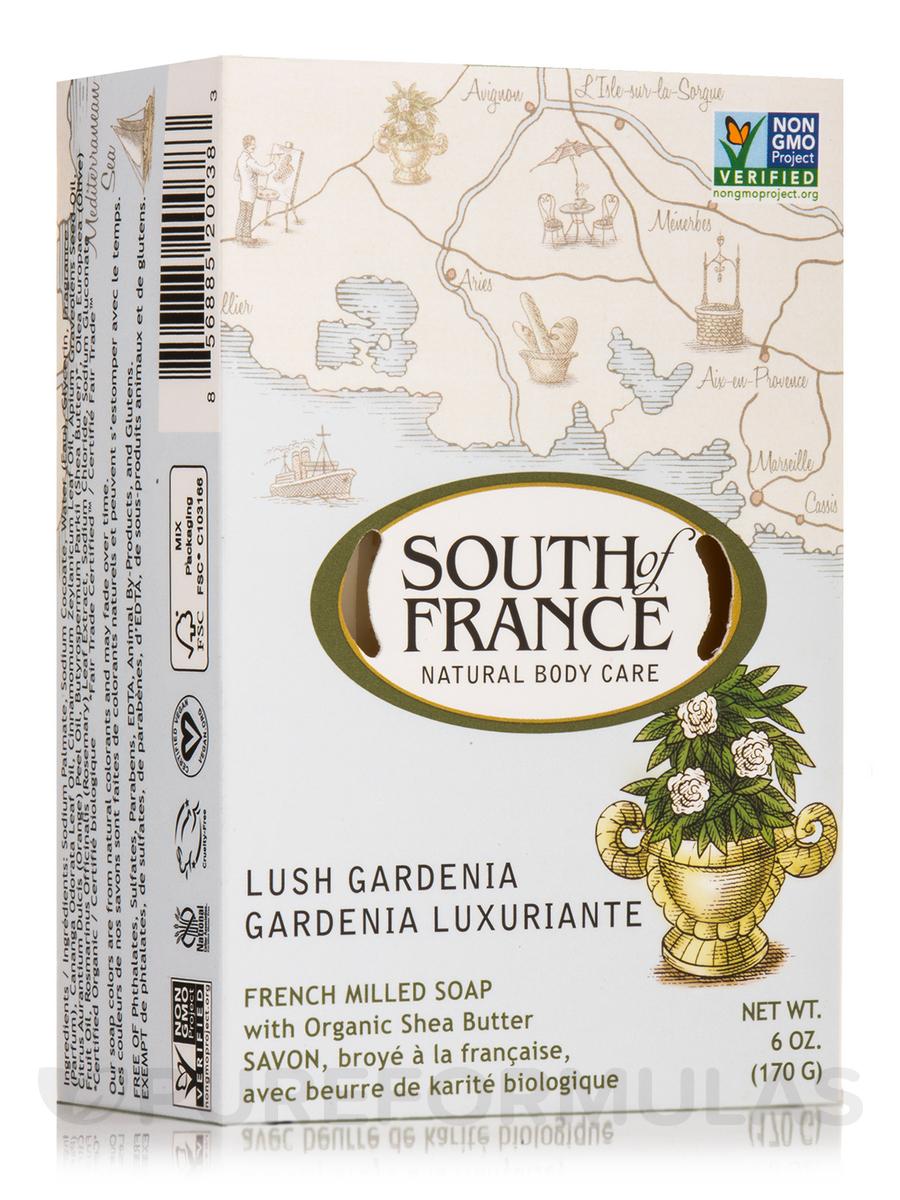 Bar Soap Oval Lush Gardenia - 6 oz (170 Grams)