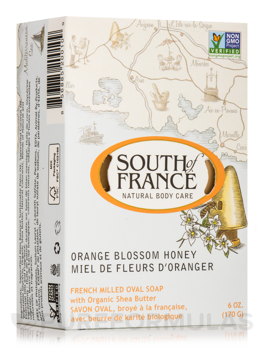 Bar Soap Oval Orange Blossom Honey - 6 oz (170 Grams)