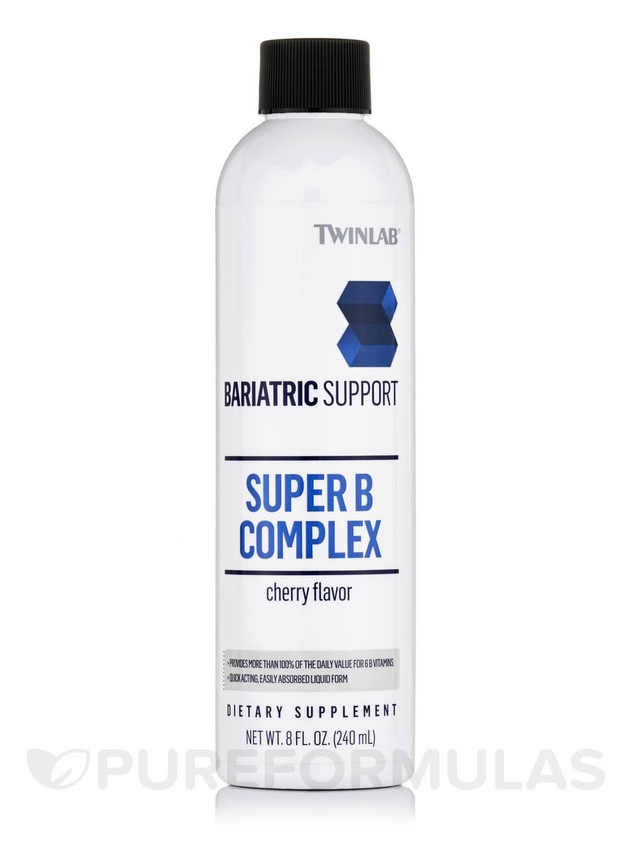 Bariatric Support Super B Complex - Cherry Flavor - 8 fl. oz (240 ml)