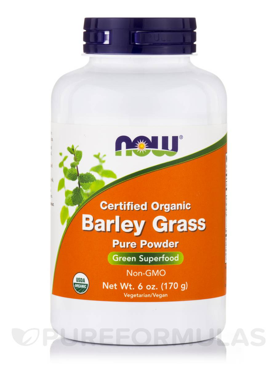 Barley Grass (100% Pure Powder) - 6 oz (170 Grams)