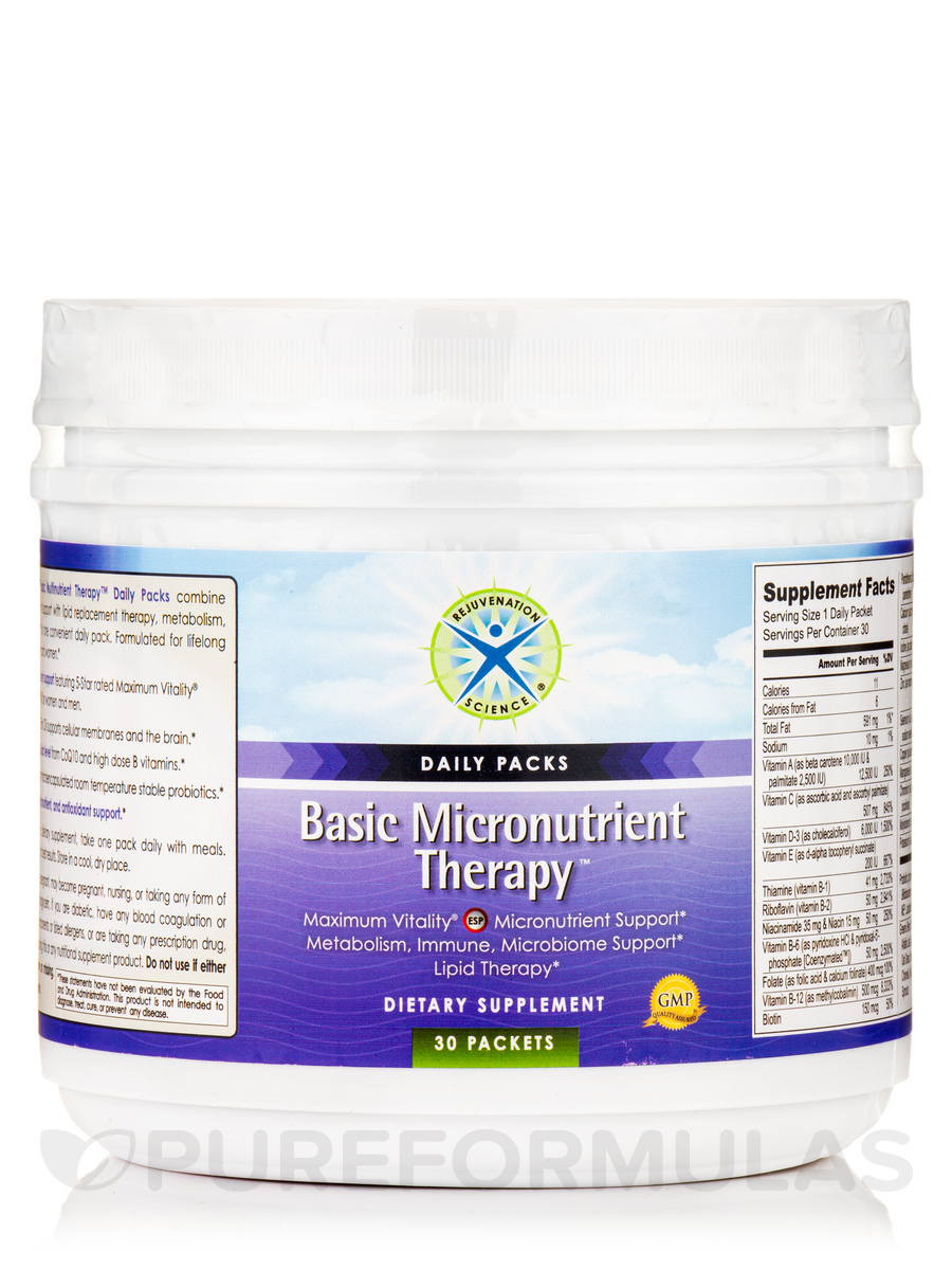 Basic Micronutrient Therapy™ Daily Packs - 30 Packets