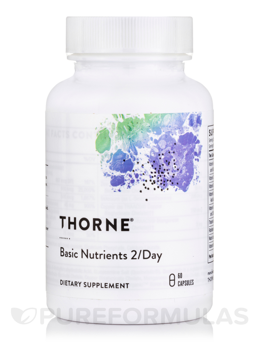 Basic Nutrients 2/Day - 60 Vegetarian Capsules