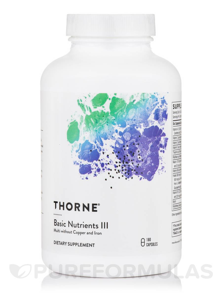thorne basic nutrients