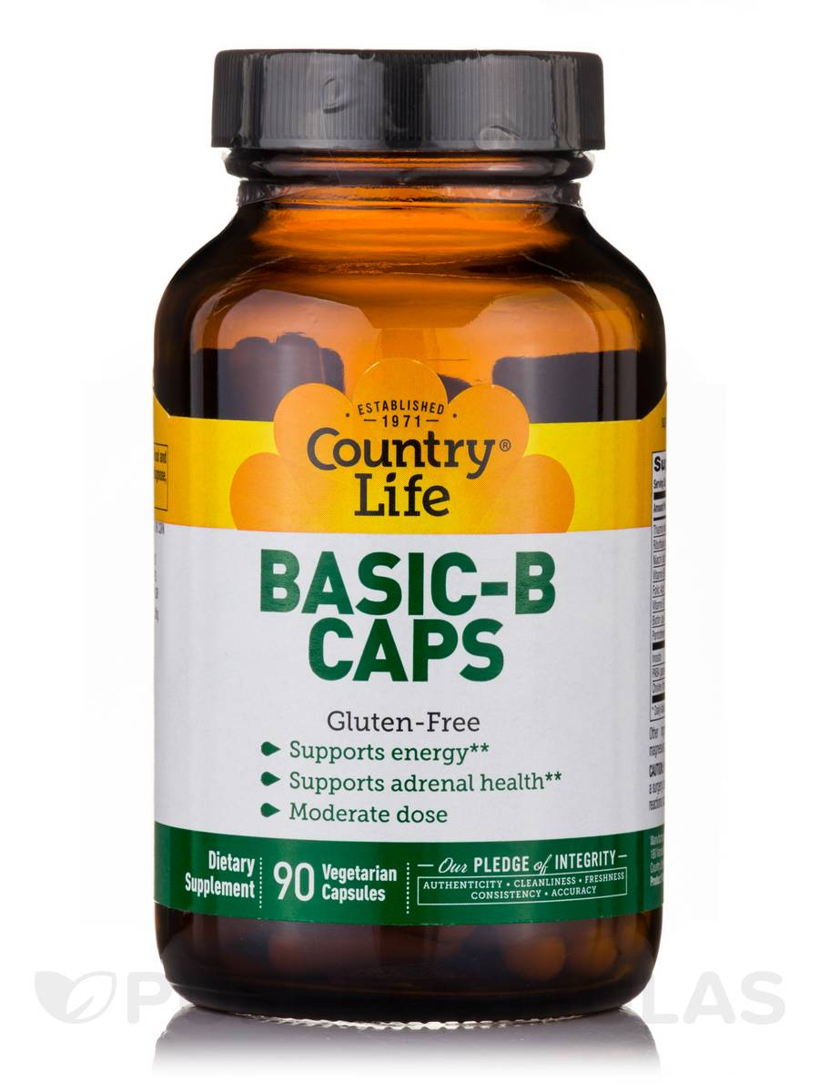 Basic-B Caps - 90 Vegetarian Capsules