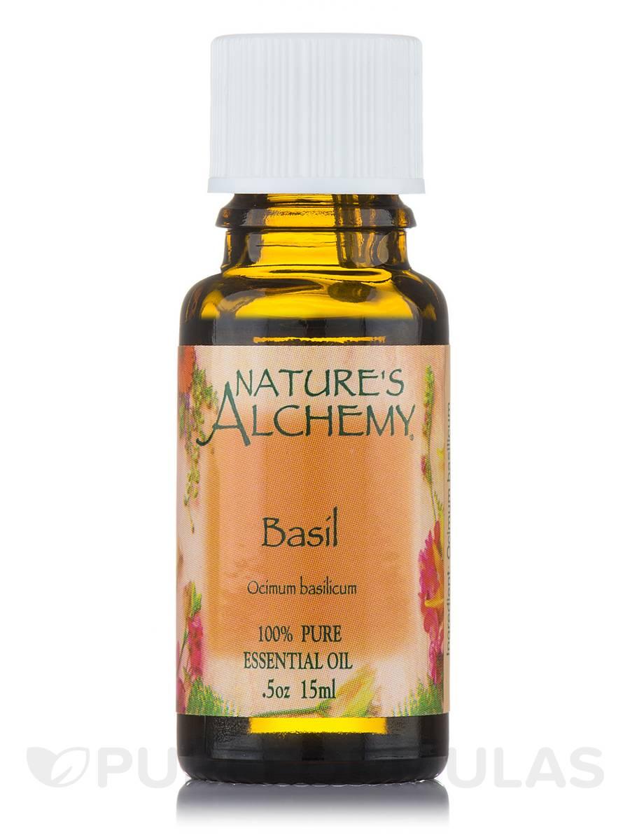 Basil Pure Essential Oil - 0.5 oz (15 ml)
