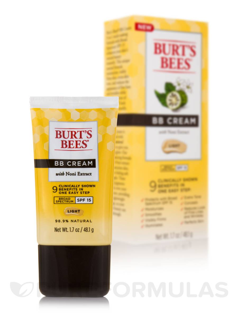 BB Cream with Noni Extract, Light (SPF 15) - 1.7 oz (48.1 Grams)
