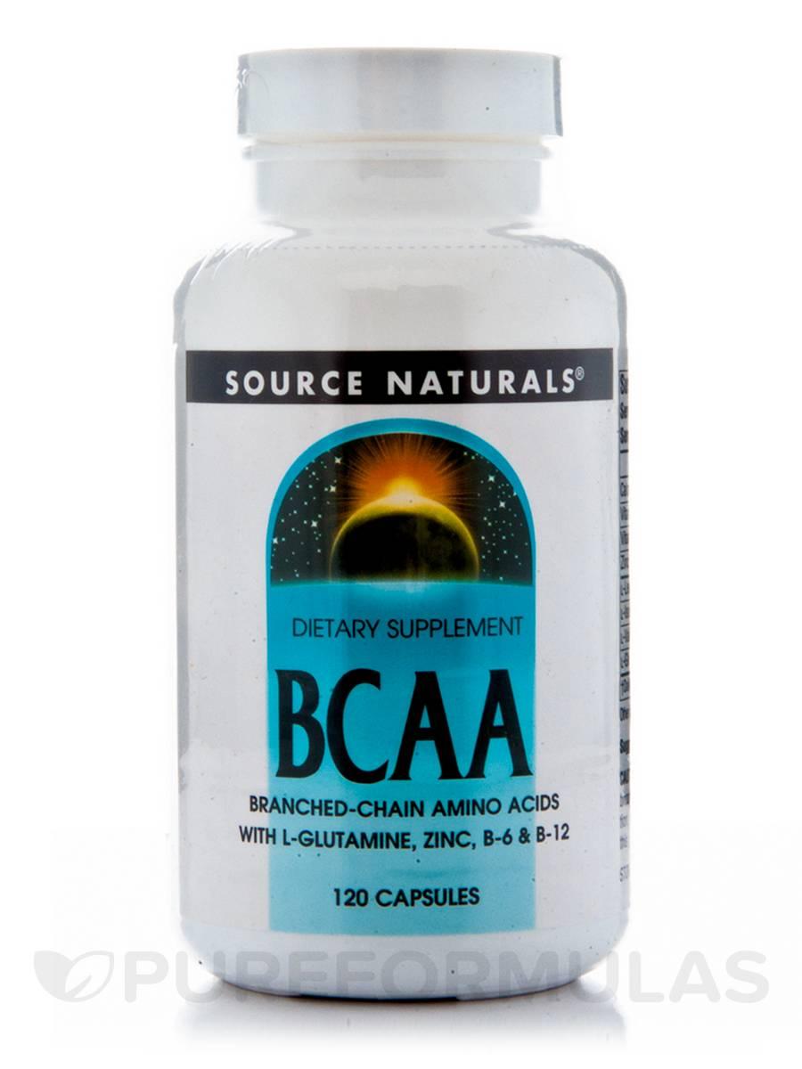 BCAA - 120 Capsules