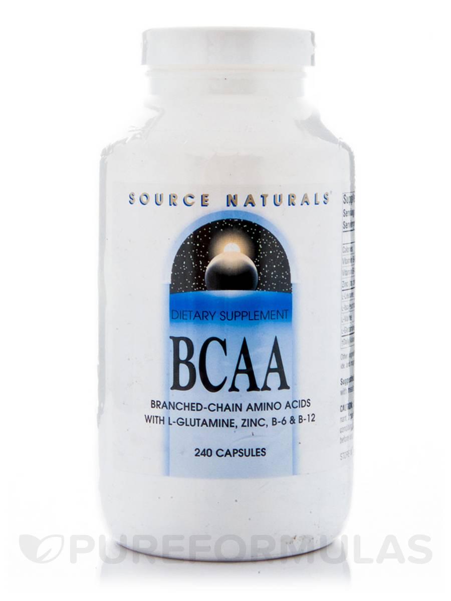 BCAA - 240 Capsules