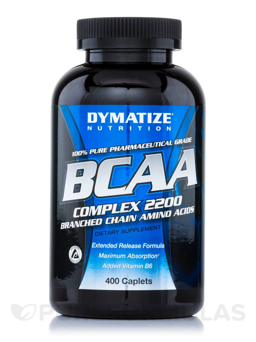 BCAA Complex 2200 - 400 Caplets