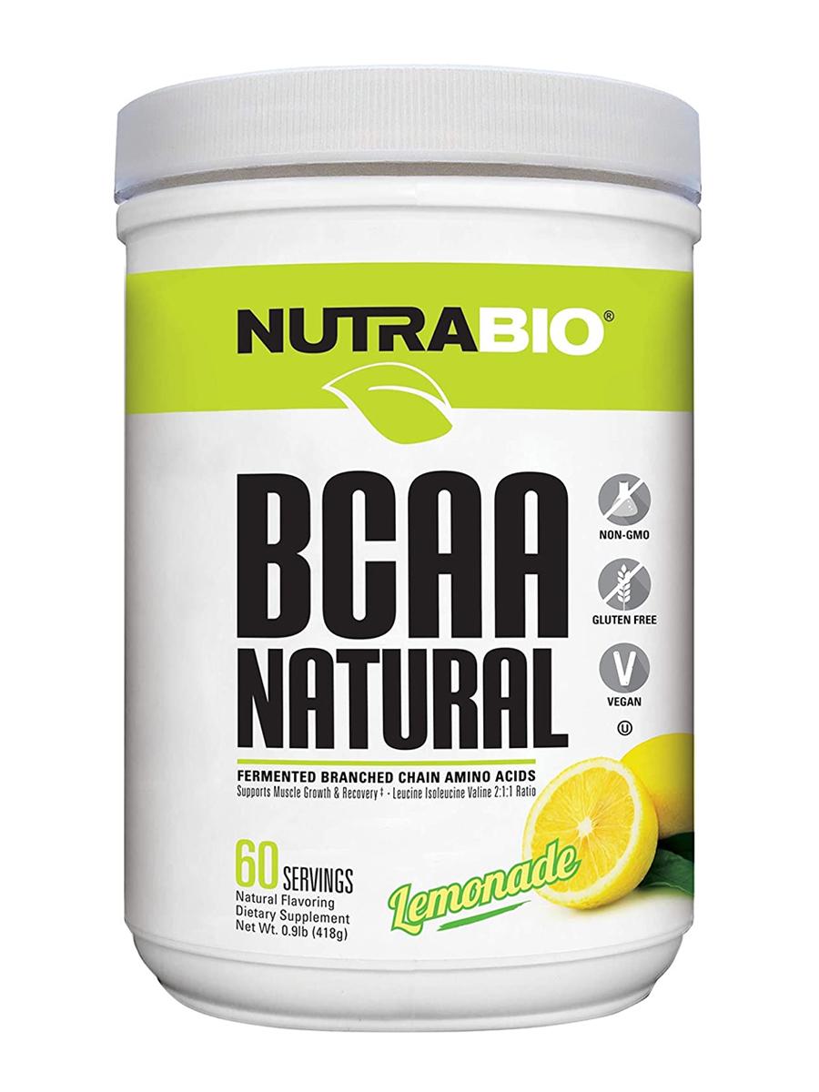 BCAA Natural Powder, Lemonade Flavor - 0.9 lb (418 Grams)