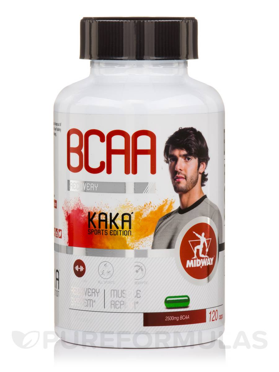 BCAA Recovery - 120 Capsules