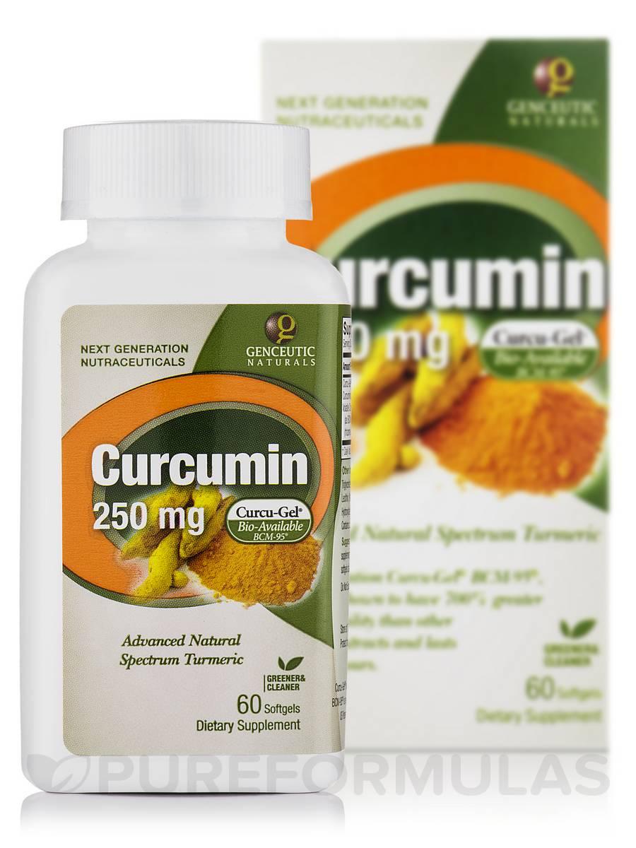 BCM-95® Curcumin 250 mg - 60 Softgels