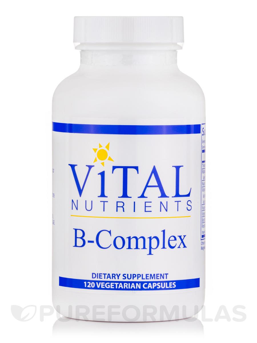B-Complex - 120 Vegetarian Capsules