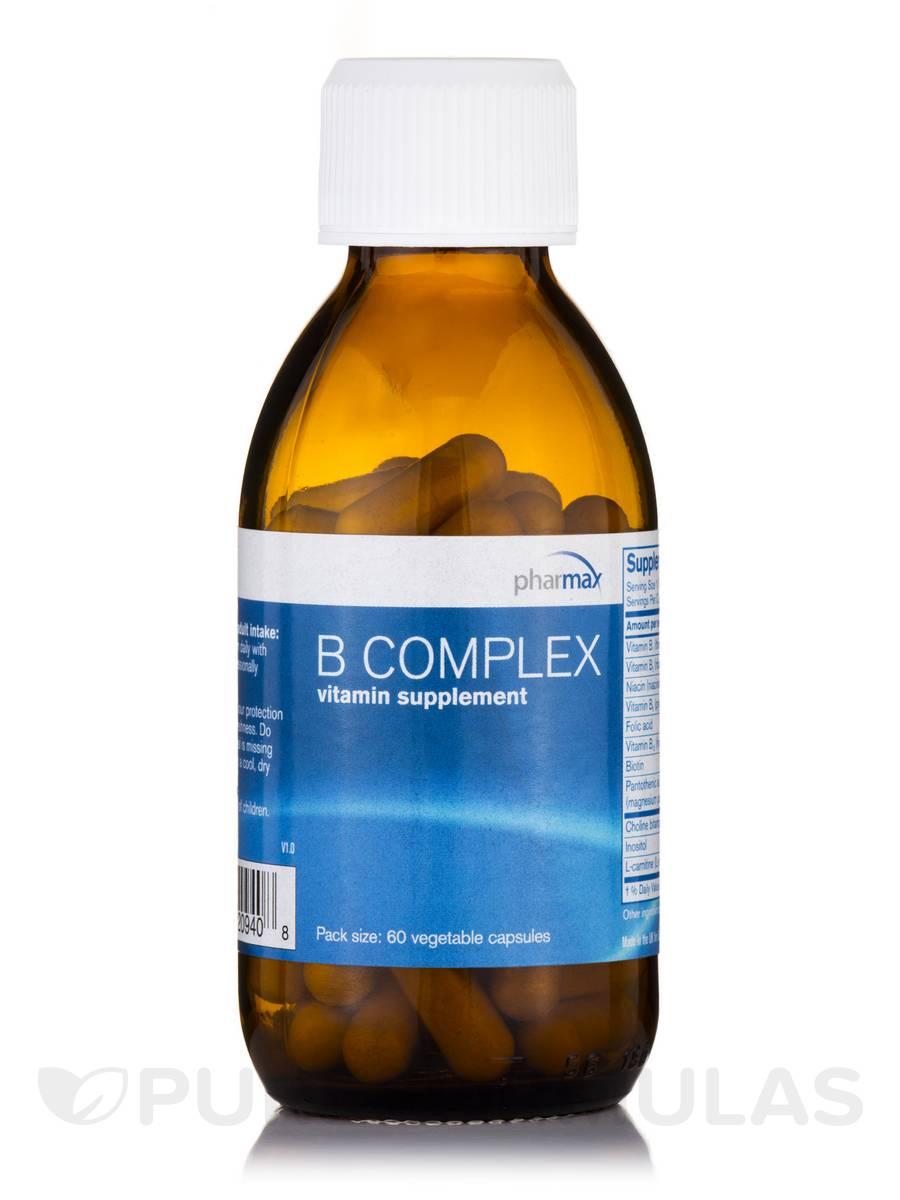 B-Complex - 60 Vegetable Capsules