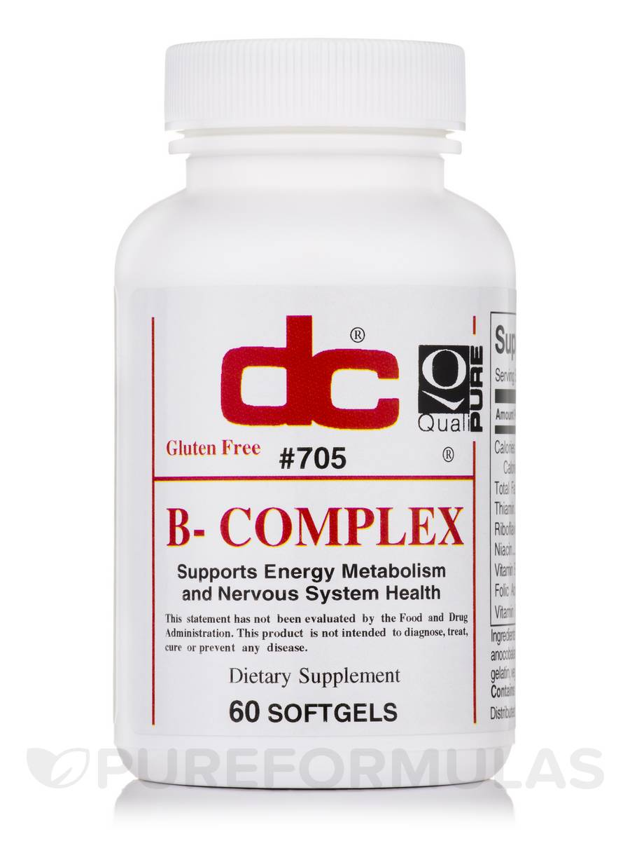 B-Complex - 60 Softgels