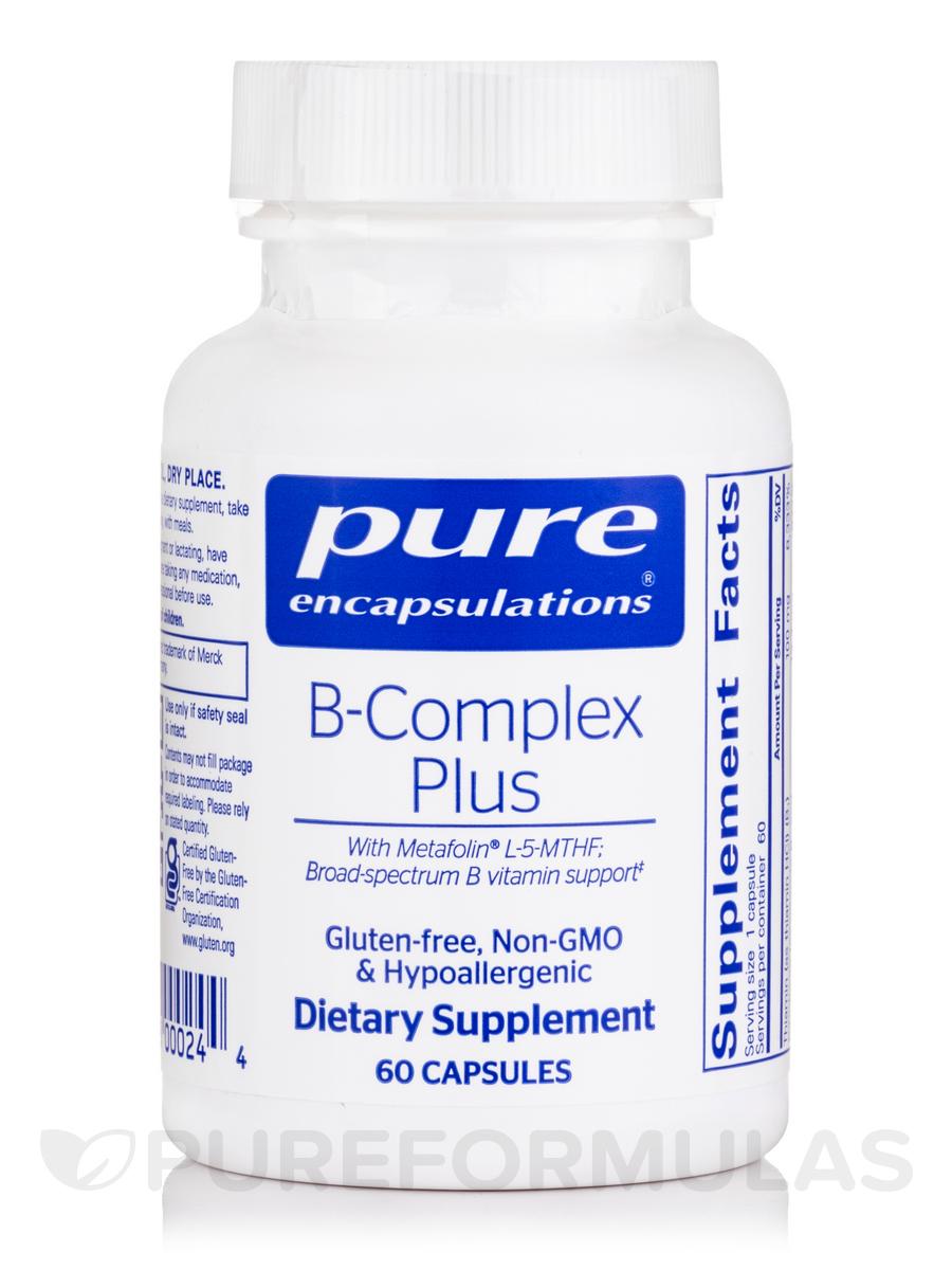 B-Complex Plus - 60 Capsules